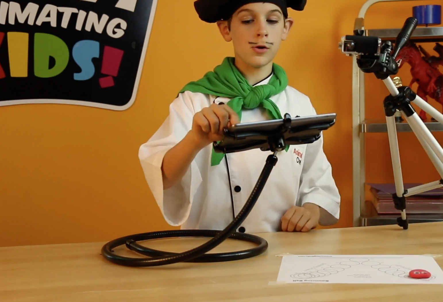 Animating Kids Stop-Motion