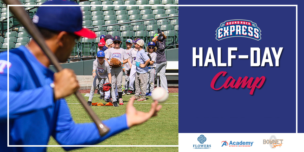 Round Rock Express Half Day Camp Image