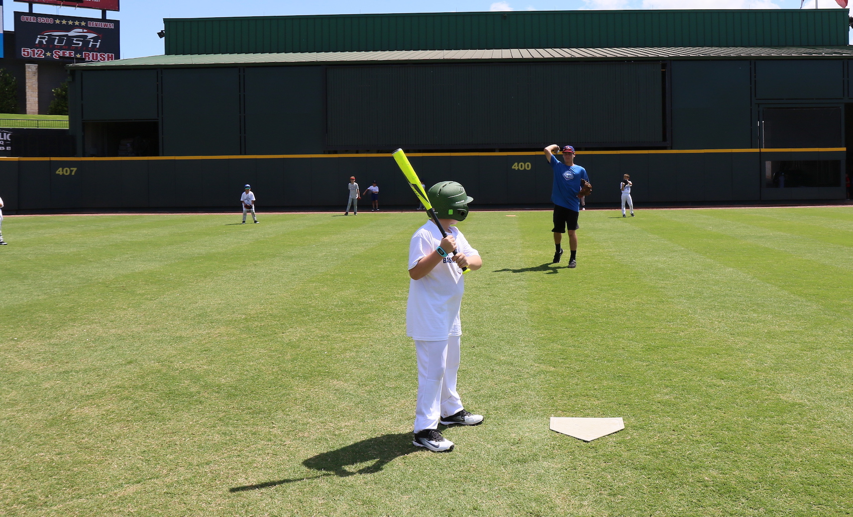 Round Rock Express Summer Camp Photo