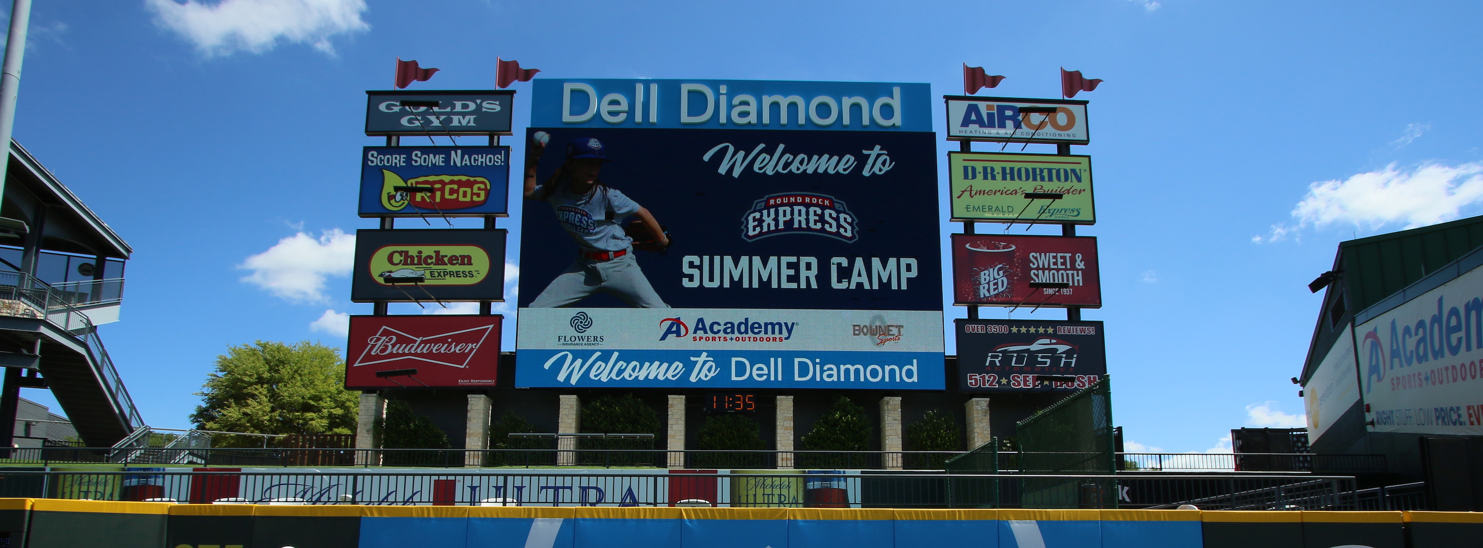 Round Rock Express Showcase Camp