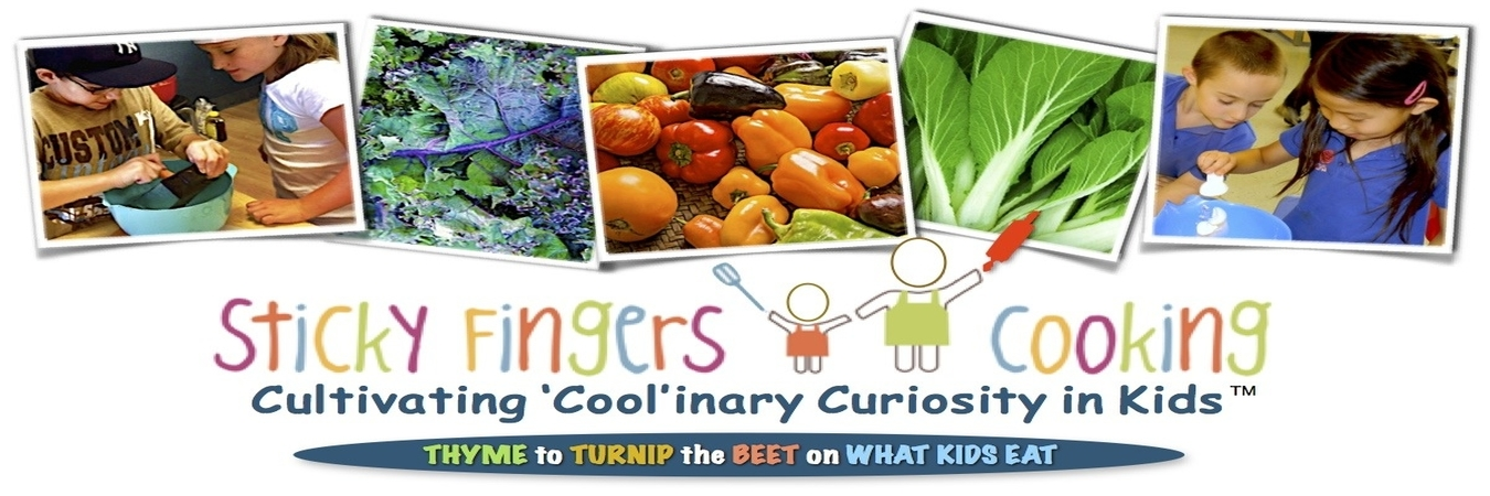 Sticky Fingers Cooking Classes for Kids