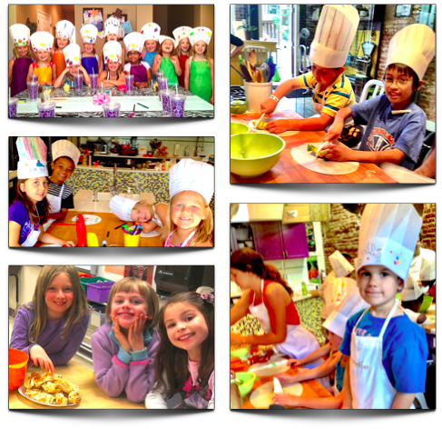Sticky Fingers cooking with kids