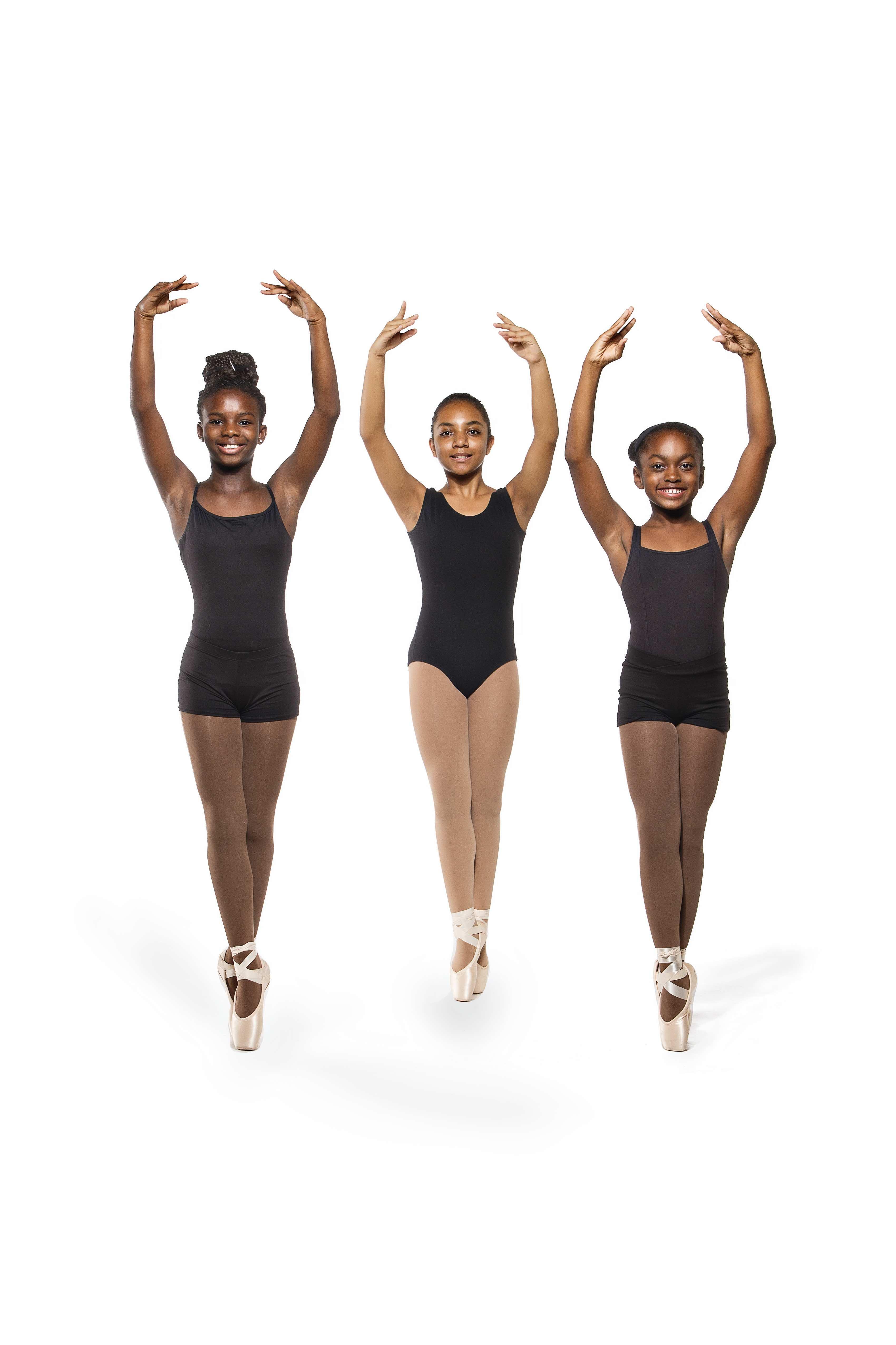 Ballet Afrique - girls dancing ballet