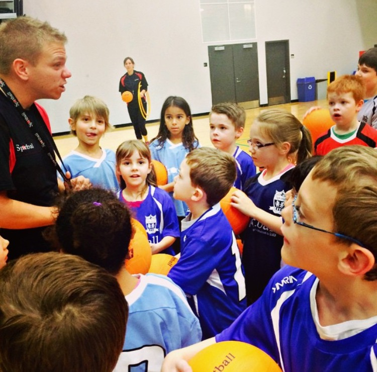 kids huddle with passion