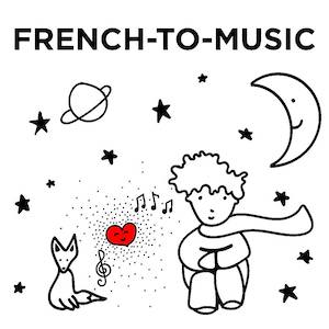 French-to-Music logo