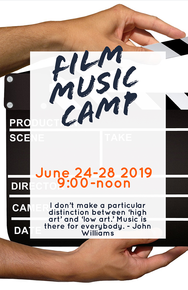 Film Music Camp Banner