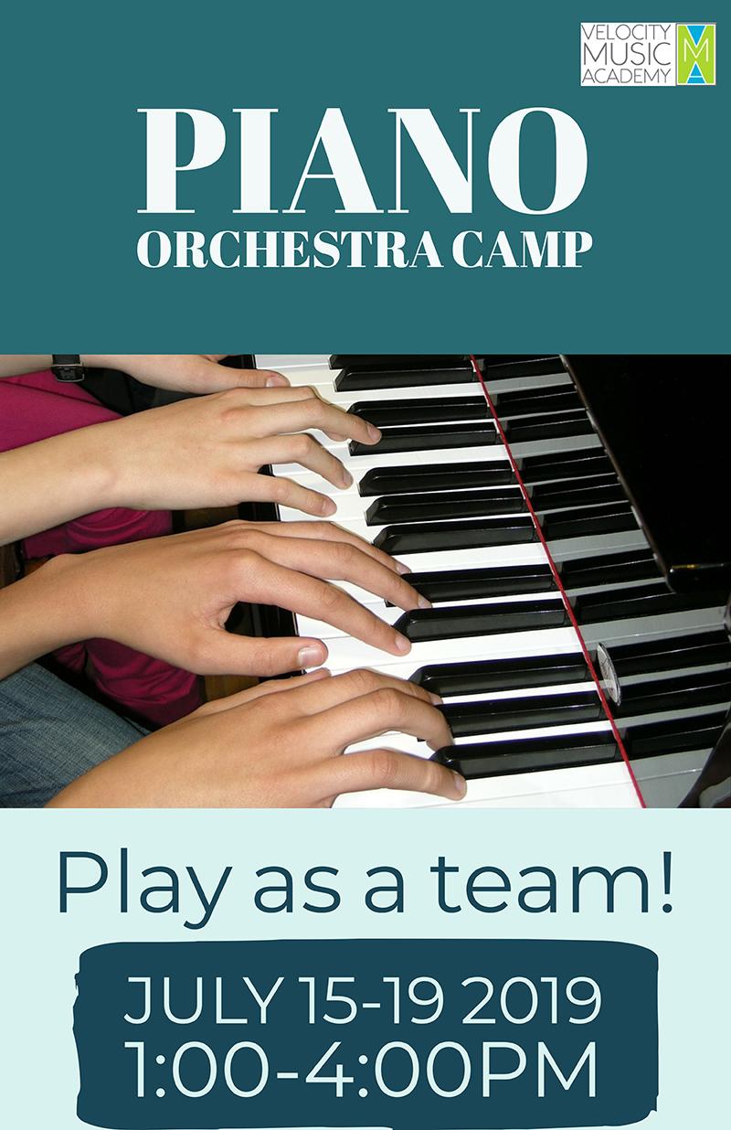 Piano Orchestra Banner