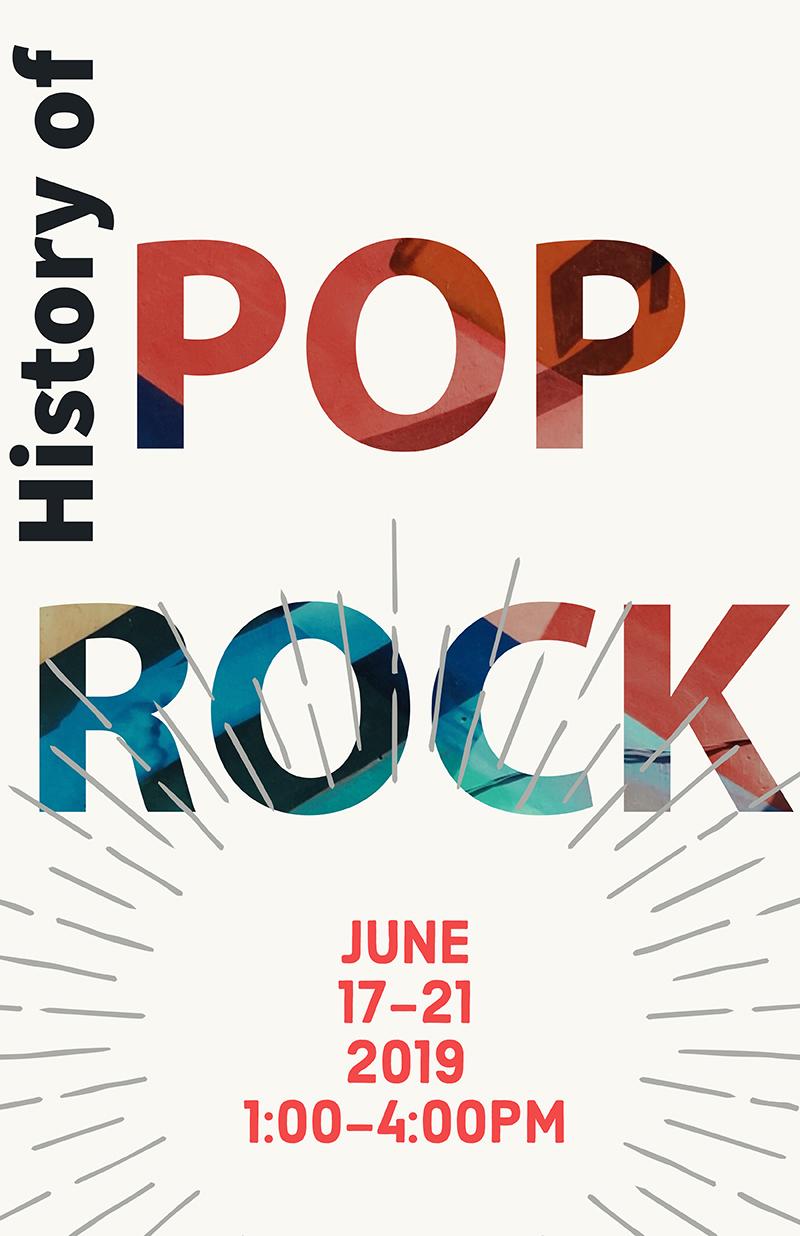 Pop Rock Camp Banner
