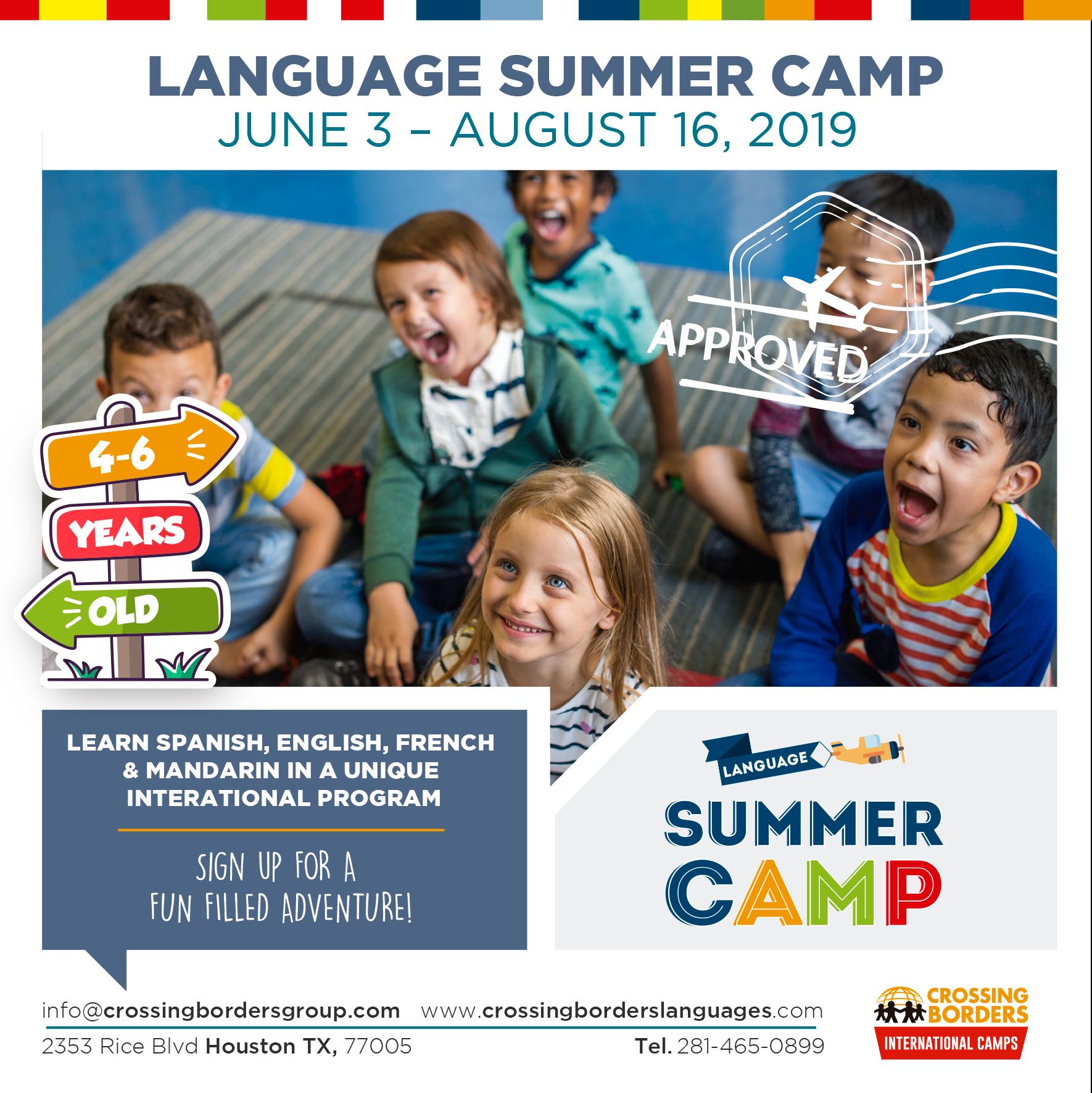 Ages 4-6 Language Camp